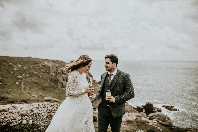 Rustic Cornwall Elopement